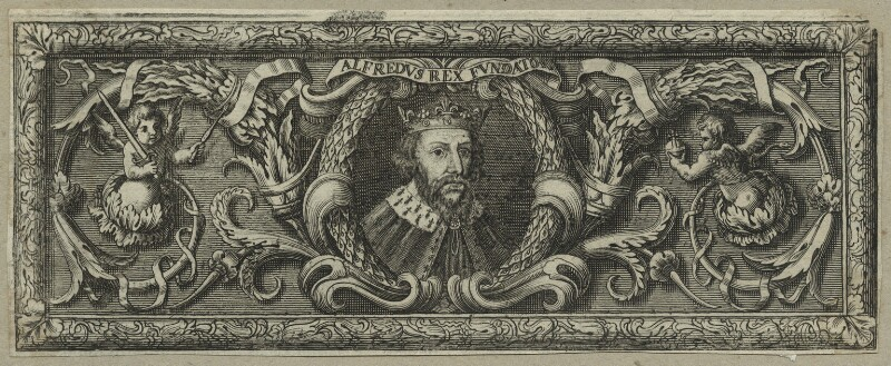King Alfred ('The Great'), after Unknown artist, probably 18th century - NPG D23581 - © National Portrait Gallery, London
