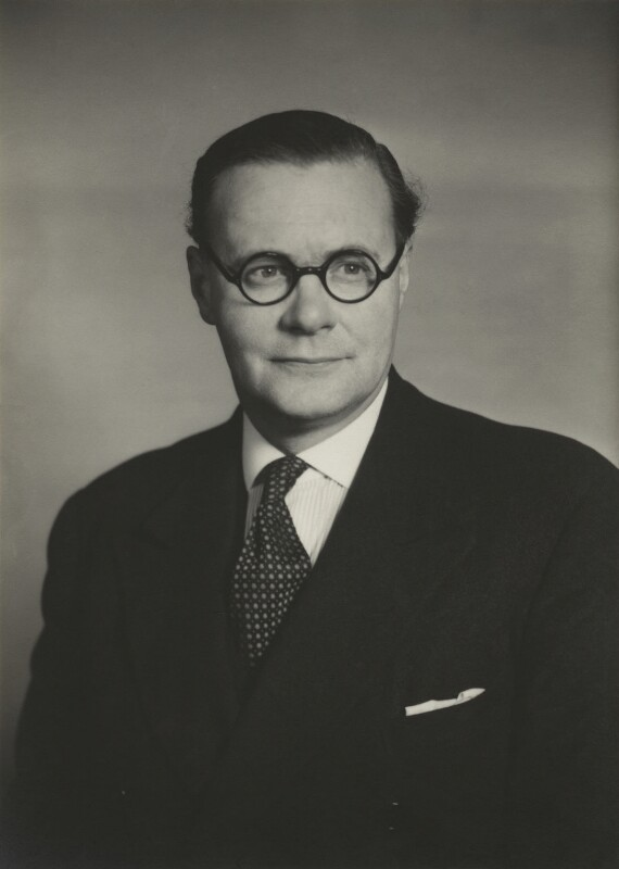 Sir George Phillips Coldstream, by Walter Stoneman, 1957 - NPG x166653 - © National Portrait Gallery, London
