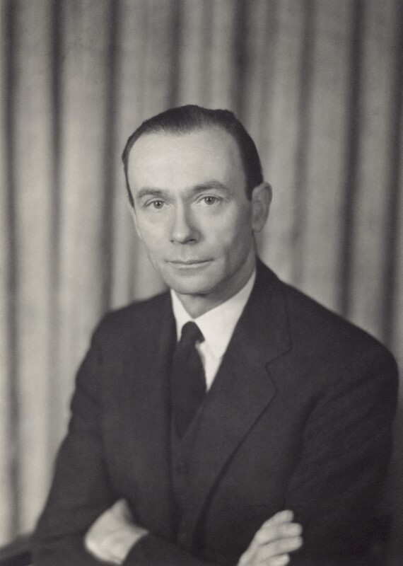 Sir William Menzies Coldstream, by Walter Stoneman, 1956 - NPG x166654 - © National Portrait Gallery, London