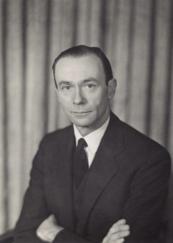 Sir William Menzies Coldstream, by Walter Stoneman, 1956 - NPG x166654 - © National Portrait Gallery, London