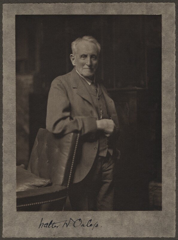Walter William Ouless, by (Mary) Olive Edis (Mrs Galsworthy), late 1920s - NPG x12625 - © National Portrait Gallery, London