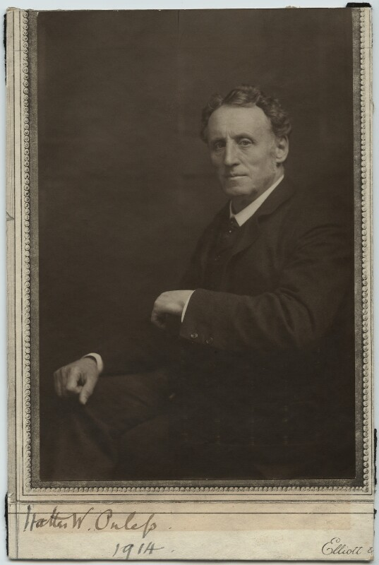 Walter William Ouless, by Elliott & Fry, 1914 or before - NPG x12626 - © National Portrait Gallery, London