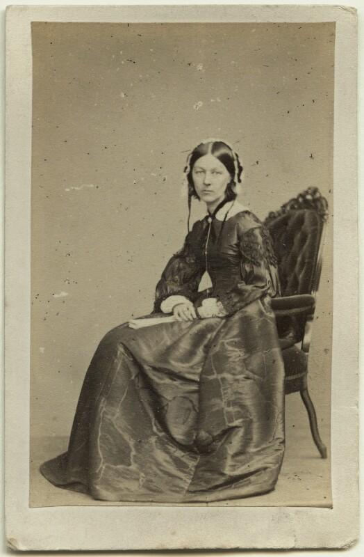 Florence Nightingale, by William Edward Kilburn, (circa 1856) - NPG Ax27595 - © National Portrait Gallery, London