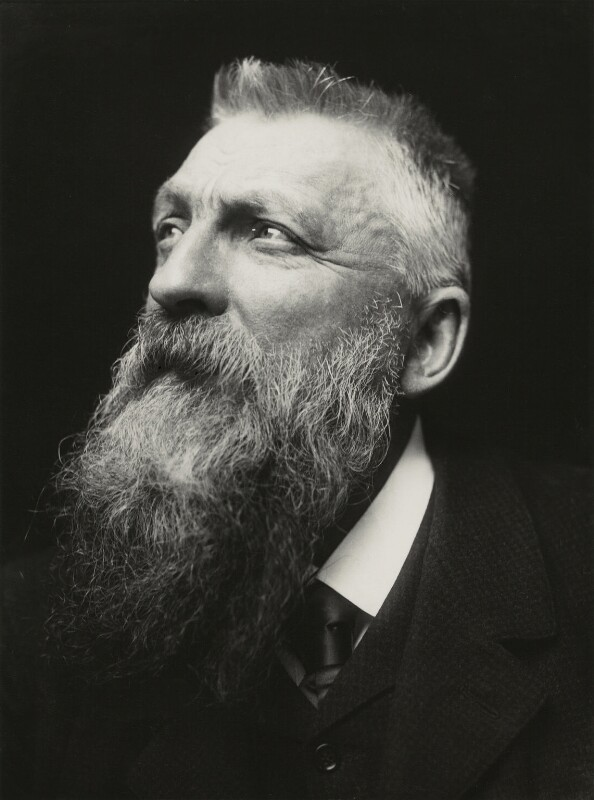 Auguste Rodin, by George Charles Beresford, 1902 - NPG x6573 - © National Portrait Gallery, London