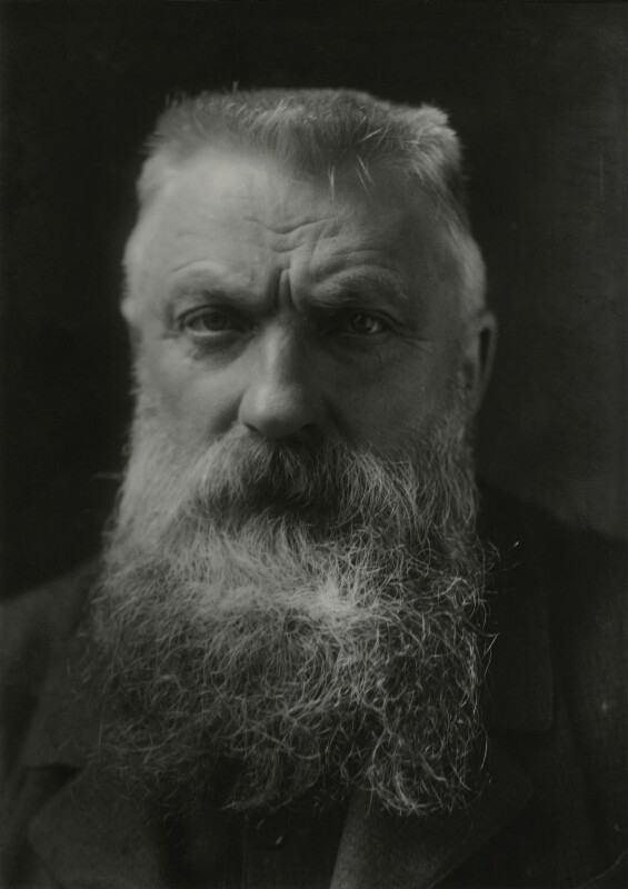 Auguste Rodin, by George Charles Beresford, 1902 - NPG x6574 - © National Portrait Gallery, London