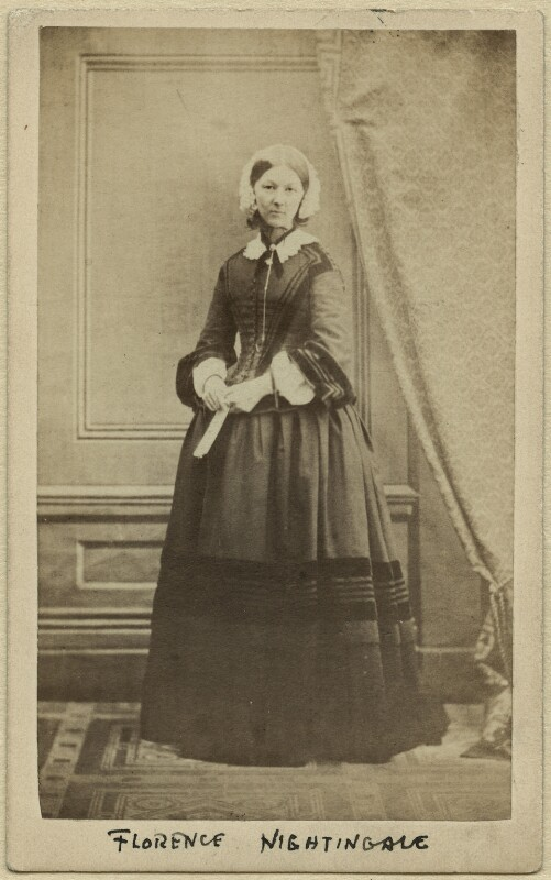 Florence Nightingale, by Henry Hering, (late 1856-1857) - NPG x16182 - © National Portrait Gallery, London