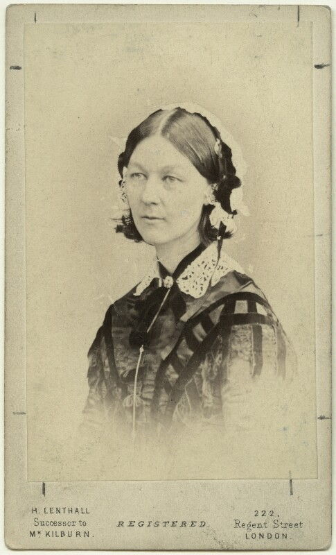 Florence Nightingale, by William Edward Kilburn, (circa 1856) - NPG x16135 - © National Portrait Gallery, London