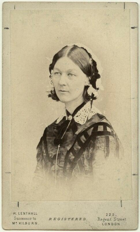 Florence Nightingale, by William Edward Kilburn, (circa 1856) - NPG x16135 - © National Portrait Gallery, London