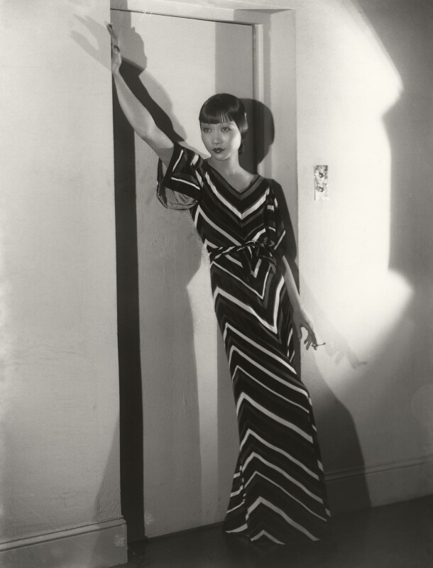 Anna May Wong, by Paul Tanqueray, 1933 - NPG x180259 - © estate of Paul Tanqueray