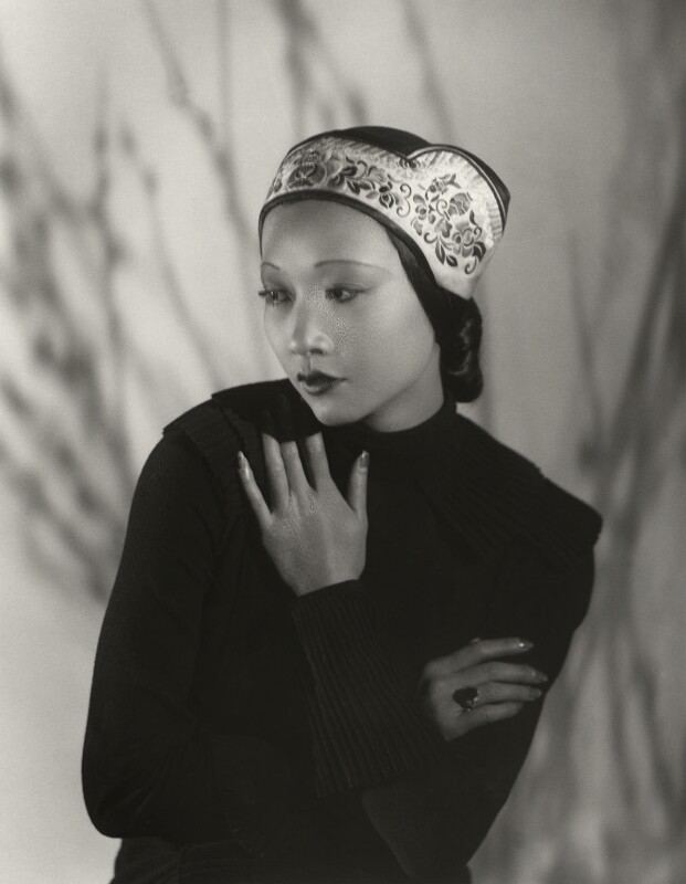 Anna May Wong, by Paul Tanqueray, 1933 - NPG x180257 - © estate of Paul Tanqueray