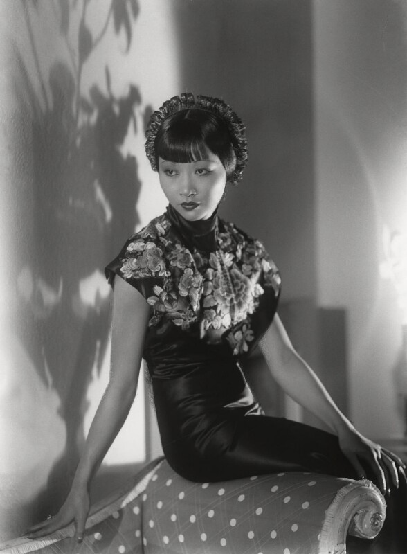 Anna May Wong, by Paul Tanqueray, 1933 - NPG x180258 - © estate of Paul Tanqueray