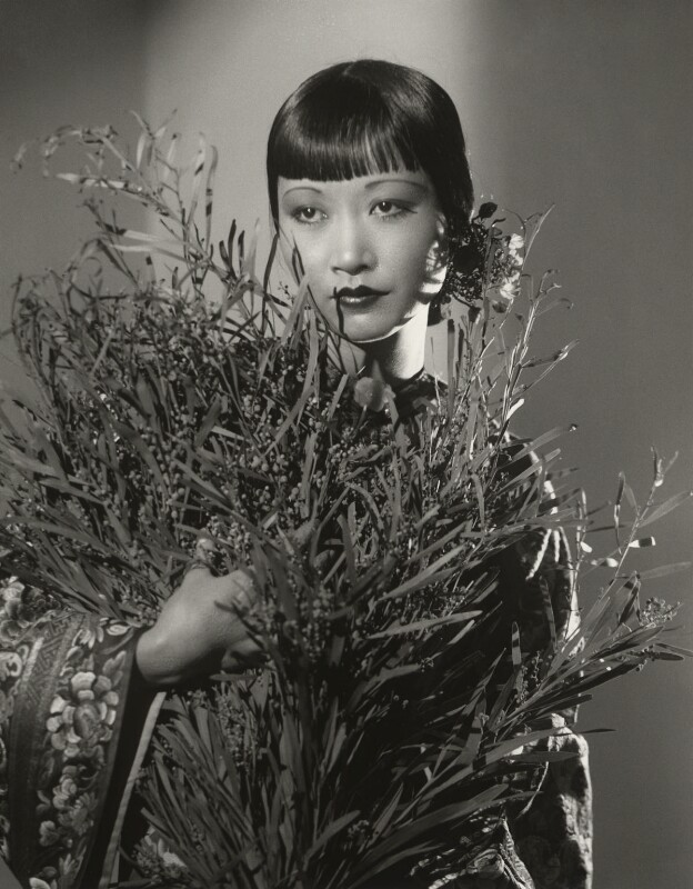 Anna May Wong, by Paul Tanqueray, 1933 - NPG x180256 - © estate of Paul Tanqueray