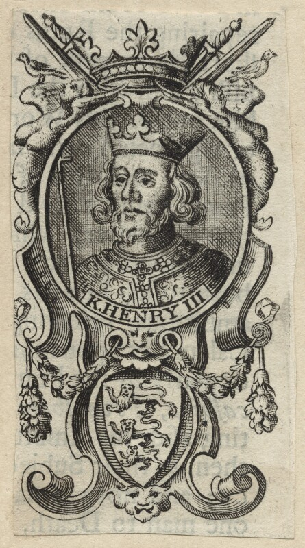 King Henry III, after Unknown artist, perhaps 18th century - NPG D23659 - © National Portrait Gallery, London