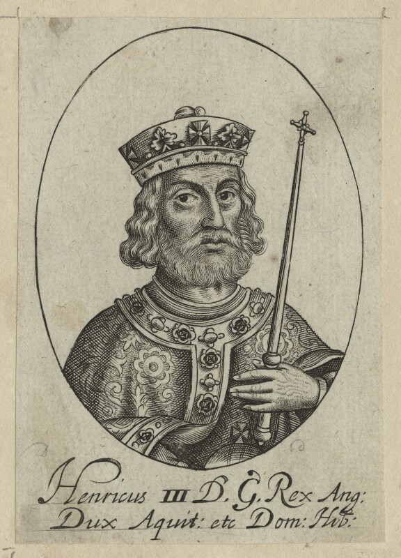 King Henry III, possibly by William Faithorne, probably 17th century - NPG D23661 - © National Portrait Gallery, London