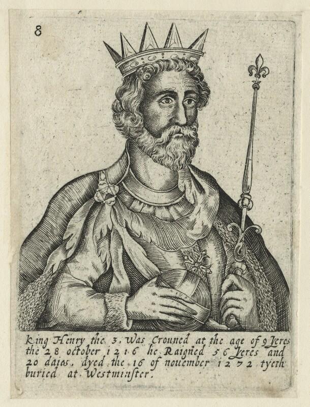King Henry III, by Unknown artist, 1618 - NPG D23668 - © National Portrait Gallery, London