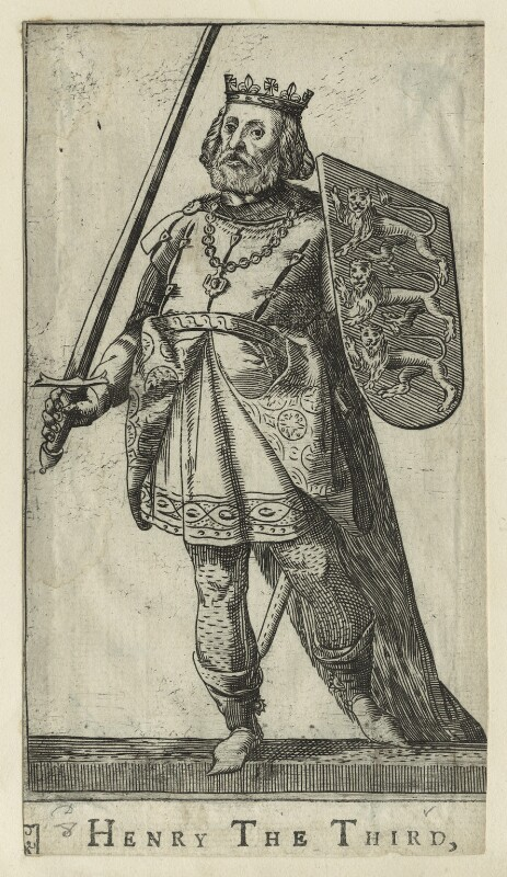 King Henry III, after Unknown artist, probably 17th century - NPG D23670 - © National Portrait Gallery, London