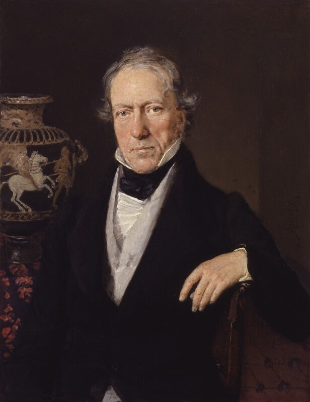 William Martin Leake, by Christian Albrecht Jensen, 1838 - NPG 6481 - © National Portrait Gallery, London