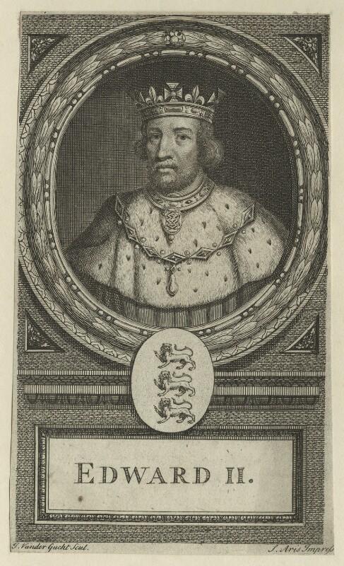 King Edward II, by John Vandergucht, probably 18th century - NPG D23682 - © National Portrait Gallery, London