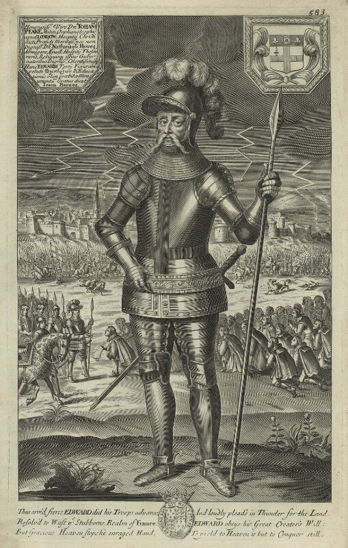 King Edward III, after Unknown artist, late 17th century - NPG D23697 - © National Portrait Gallery, London