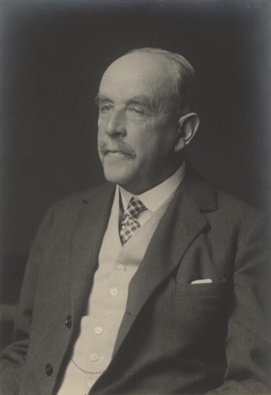 Sir Richard Beale Colvin, by Walter Stoneman, June 1934 - NPG x166703 - © National Portrait Gallery, London