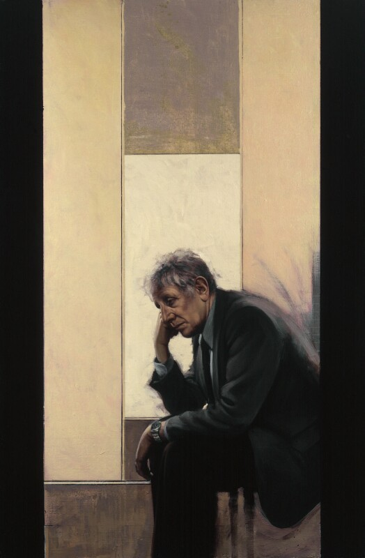 Jonathan Miller, by Stephen Conroy, 1999 - NPG 6492 - © National Portrait Gallery, London