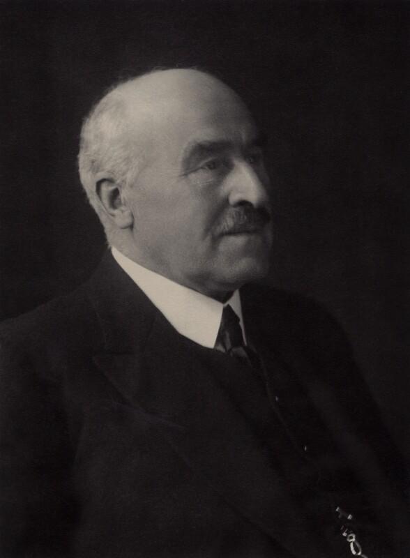Frederick Henry Smith, 1st Baron Colwyn, by Walter Stoneman, 1930 - NPG x166704 - © National Portrait Gallery, London