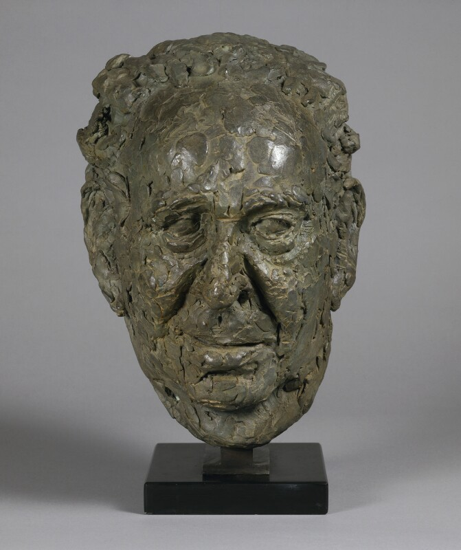 Arnold Abraham Goodman, Baron Goodman, by Sir Anthony Alfred Caro, 1988 - NPG L240 - © Barford Sculptures Ltd; on loan to the National Portrait Gallery, London