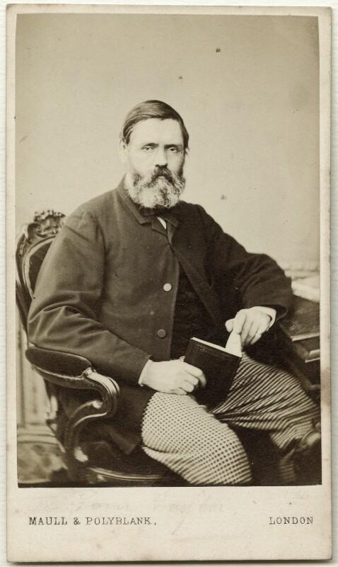 Tom Taylor, by Maull & Polyblank, circa 1863 - NPG Ax38166 - © National Portrait Gallery, London