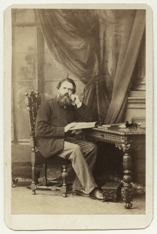 Tom Taylor, by Caldesi, Blanford & Co, early 1860s - NPG x26068 - © National Portrait Gallery, London
