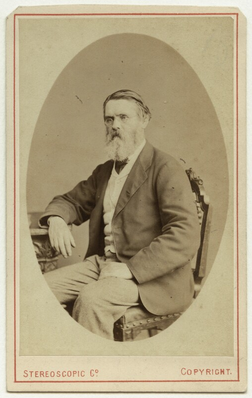 Tom Taylor, by London Stereoscopic & Photographic Company, late 1860s - NPG x46488 - © National Portrait Gallery, London