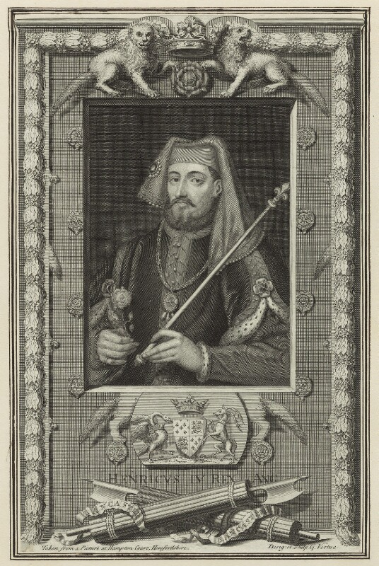 King Henry IV, by George Vertue, 1732 - NPG D23723 - © National Portrait Gallery, London
