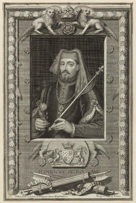 King Henry IV, by George Vertue, 1732 - NPG D23723 - © National Portrait Gallery, London