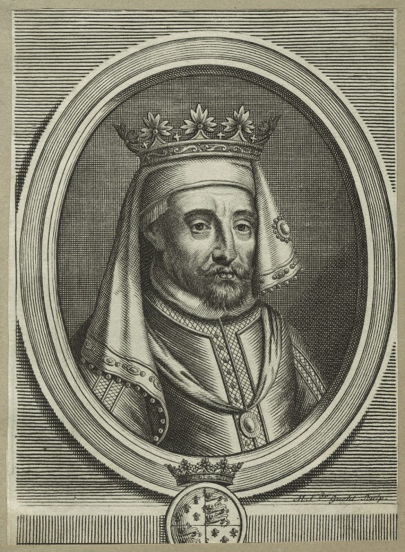 King Henry IV, by Michael Vandergucht, late 17th century - NPG D23724 - © National Portrait Gallery, London