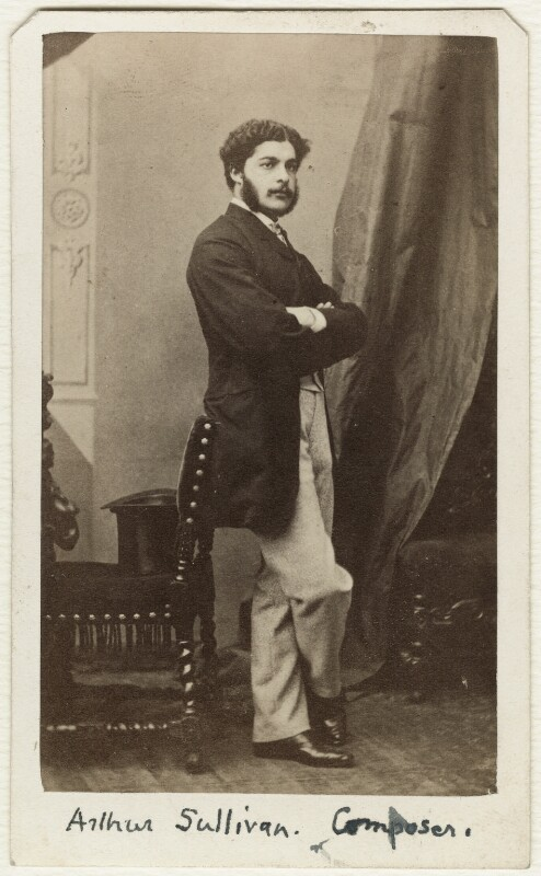 Sir Arthur Seymour Sullivan, by Sarony & Co, circa 1864 - NPG Ax38149 - © National Portrait Gallery, London