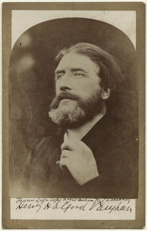 Henry Halford Vaughan, by Julia Margaret Cameron, 1864-1870 - NPG x18079 - © National Portrait Gallery, London