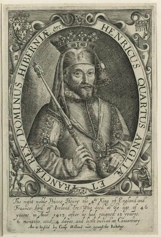 King Henry IV, probably by Renold or Reginold Elstrack (Elstracke), 1618 - NPG D23731 - © National Portrait Gallery, London