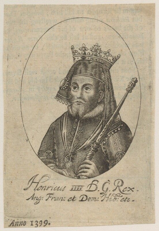King Henry IV, possibly by William Faithorne, mid 17th century - NPG D23735 - © National Portrait Gallery, London