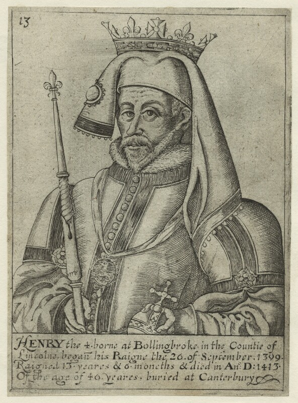 King Henry IV, after Unknown artist, early 17th century - NPG D23736 - © National Portrait Gallery, London
