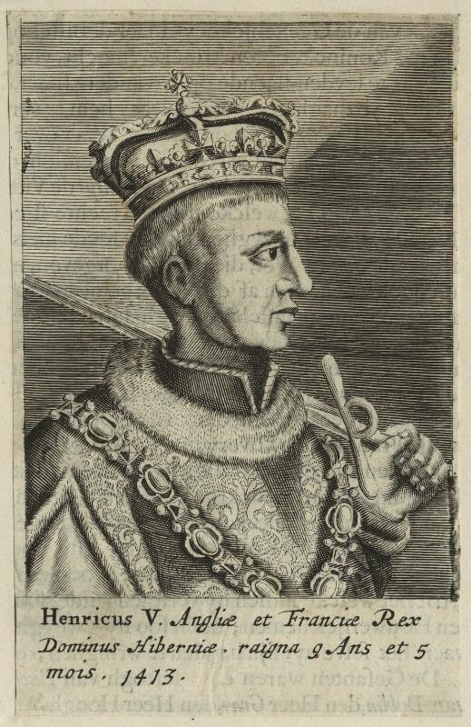 King Henry V, after Unknown artist, published 1649 - NPG D23744 - © National Portrait Gallery, London