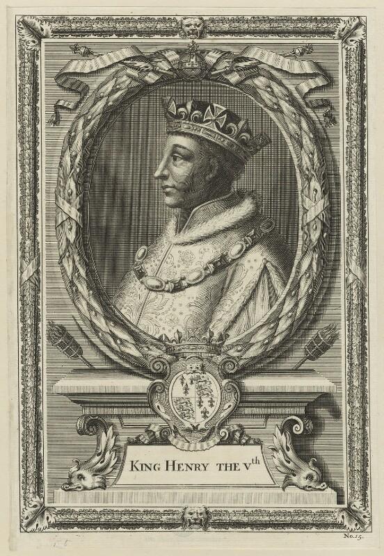 King Henry V, possibly by Peter Vanderbank (Vandrebanc), perhaps 17th century - NPG D23748 - © National Portrait Gallery, London