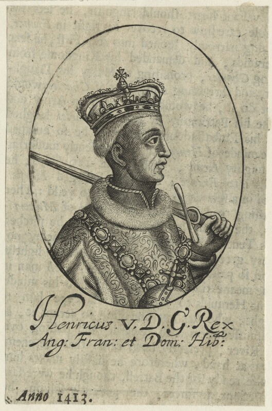 King Henry V, possibly by William Faithorne, mid 17th century - NPG D23749 - © National Portrait Gallery, London