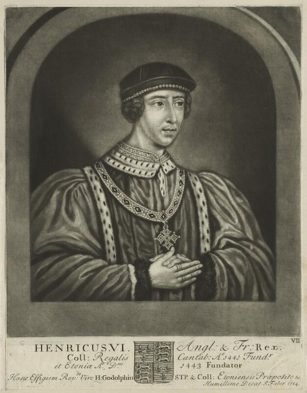King Henry VI, by John Faber Sr, 1714 - NPG D23767 - © National Portrait Gallery, London