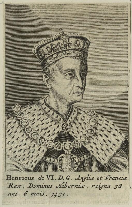 King Henry VI, after Unknown artist, published 1649 - NPG D23769 - © National Portrait Gallery, London