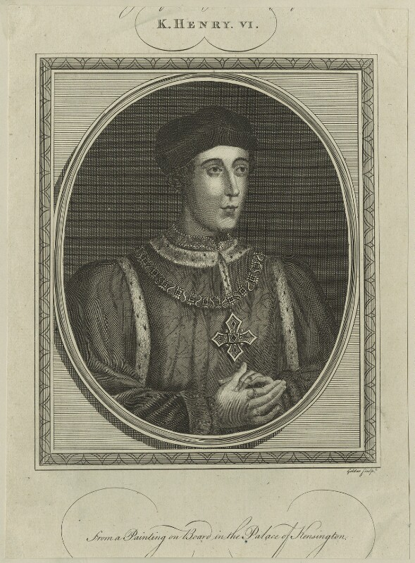 King Henry VI, by John Goldar, probably 18th century - NPG D23770 - © National Portrait Gallery, London
