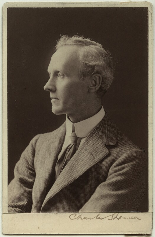 Charles Haslewood Shannon, by Elliott & Fry, before 1900? - NPG x13184 - © National Portrait Gallery, London