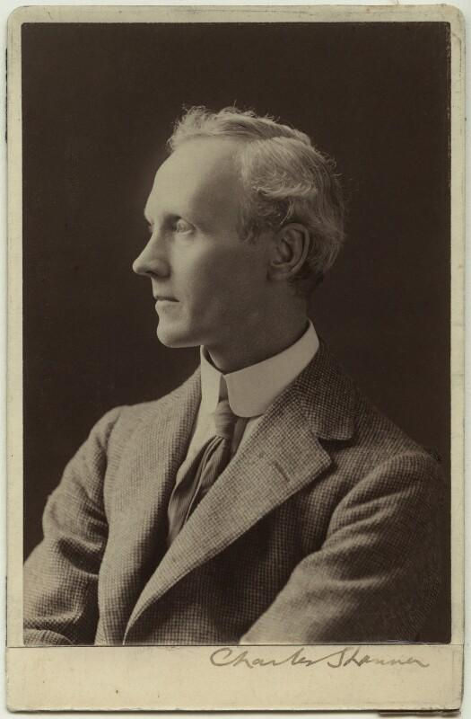 Charles Haslewood Shannon, by Elliott & Fry, before 1900? - NPG x13184 - © National Portrait Gallery, London