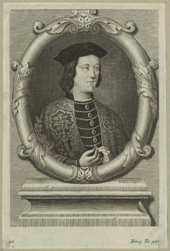 King Edward IV, by Robert White, late 17th century - NPG D23785 - © National Portrait Gallery, London