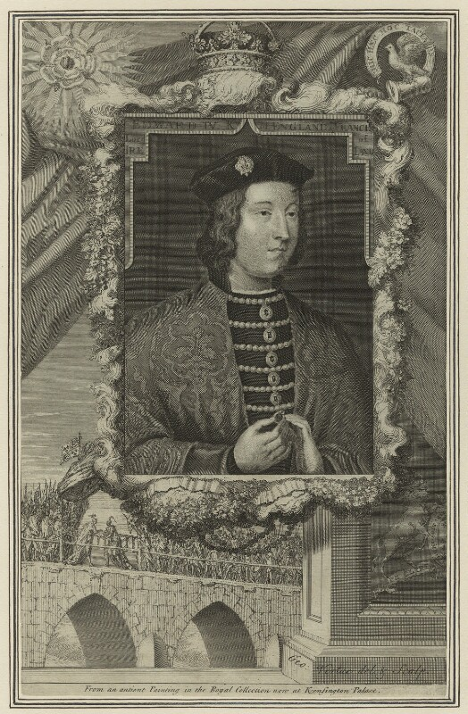 King Edward IV, by George Vertue, 1732 - NPG D23790 - © National Portrait Gallery, London