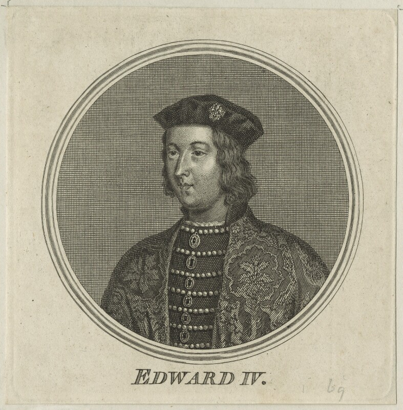 King Edward IV, after Unknown artist, perhaps mid 18th century - NPG D23793 - © National Portrait Gallery, London