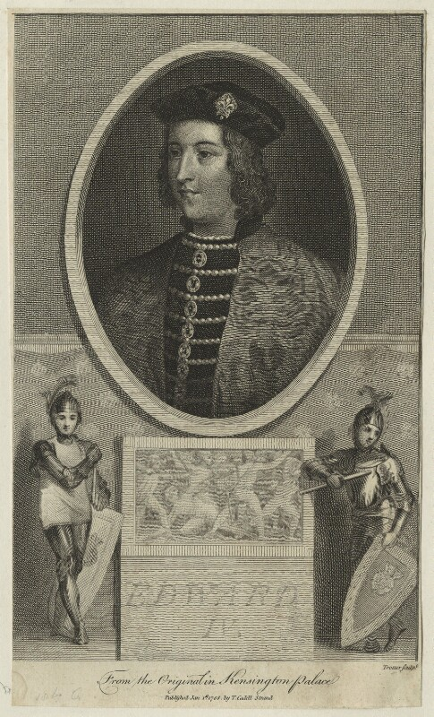 King Edward IV, by Thomas Trotter, published by  Thomas Cadell the Elder, published 1 January 1788 - NPG D23795 - © National Portrait Gallery, London